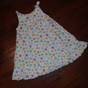 Gymboree girls Gumball sleeveless Sun Dress 18-24m